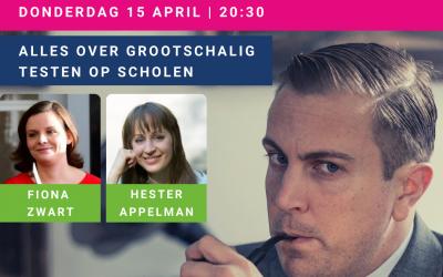 Ouderraad: Sven Hulleman en Hester Appelman over grootschalig testen op scholen