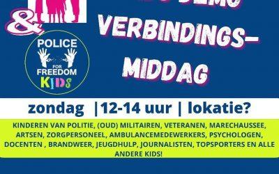 Kids demo verbindingsmiddag op 11 juli