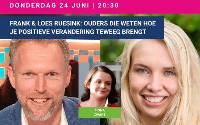 Frank & Loes Ruesink in Ouderraad: ouders die weten hoe je positieve verandering teweeg brengt