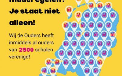 In 1 maand van 1.000 naar meer dan 2.500 aangemelde scholen!